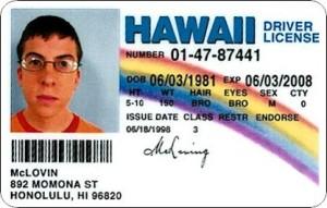 McLovin ID