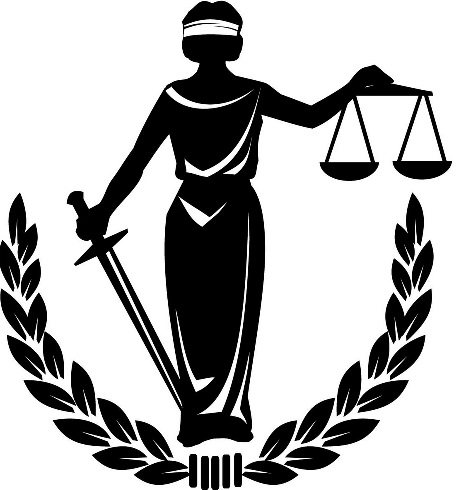 Blind Lady Justice by Catherine Johnson